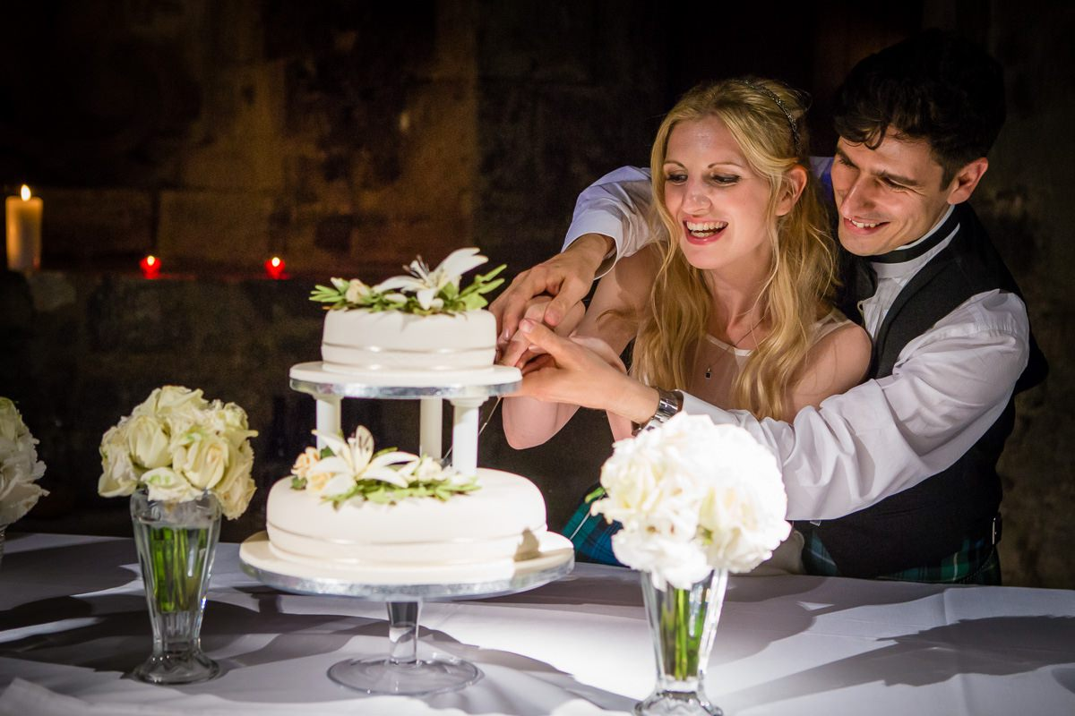 Charlotte & Hugo London Church wedding + reception at The Crypt London