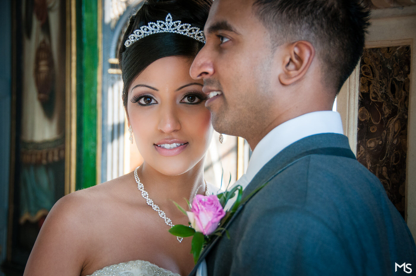 Fairytale Bolsover Castle Indian Wedding